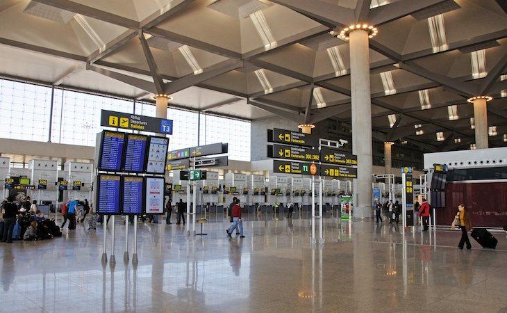 Osborne denunció la situación a la policía en el aeropuerto de Málaga