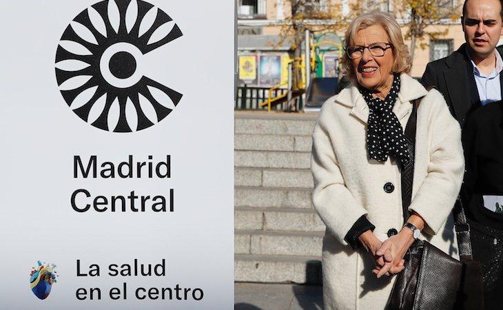 Manuela Carmena y su equipo impulsaron Madrid Central en noviembre de 2018