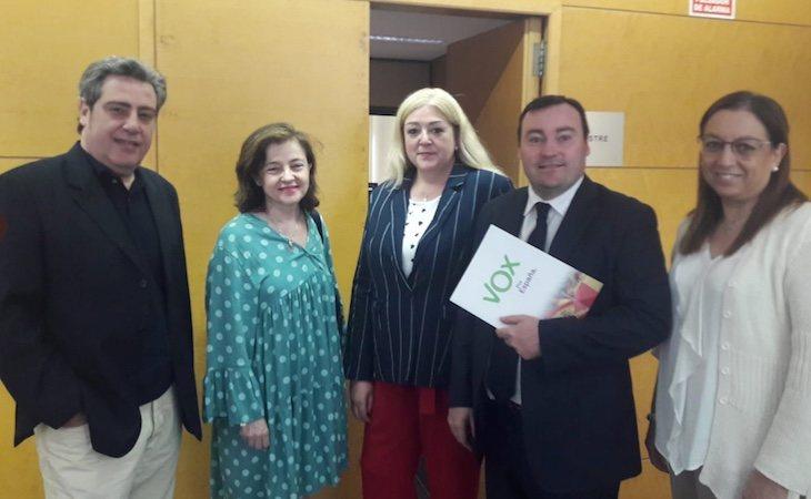 Ángeles Criado es diputada de VOX en las Cortes de Valencia
