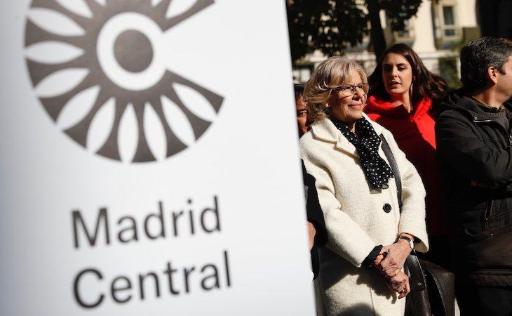 Manuela Carmena impulsó Madrid Central como alcaldesa de la ciudad