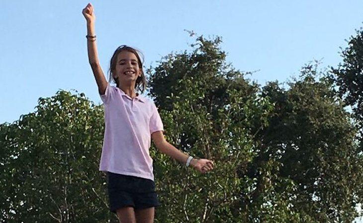 Inés fue expulsada de un campamento de inglés