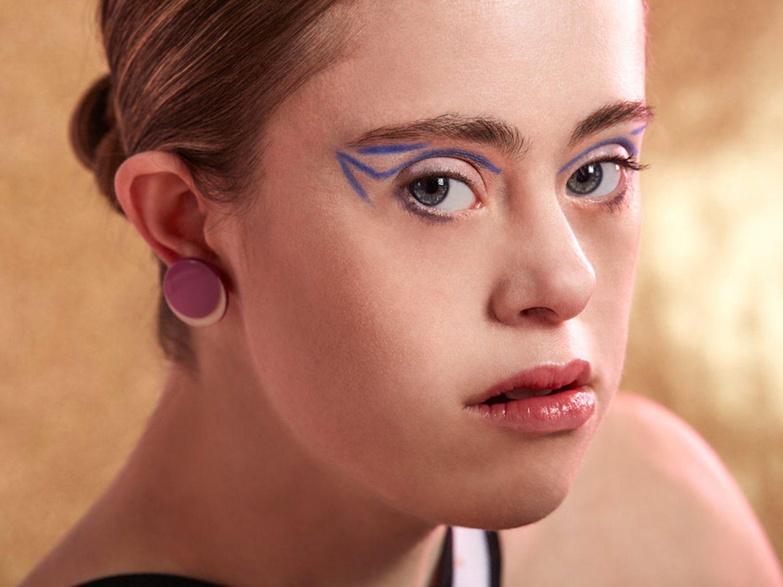 La historia de superación de Chelsea Werner: Campeona olímpica y modelo con Síndrome de Down