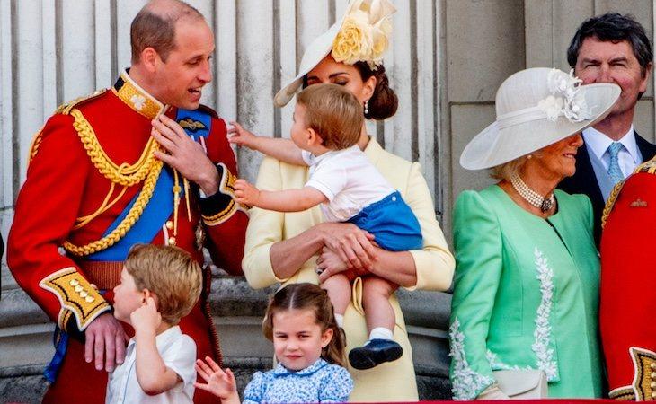 George, Charlotte y Louis son los tres sucesores de Guillermo de Inglaterra