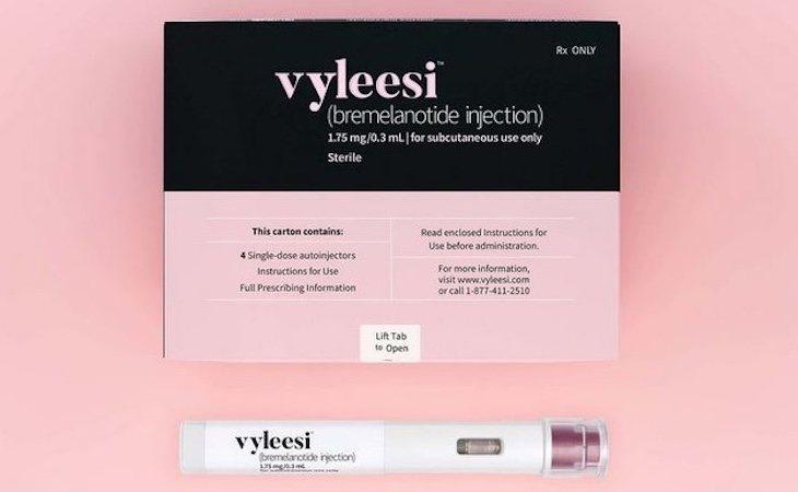 Vyleesi ha sido aprobada y se comercializará en Estados Unidos