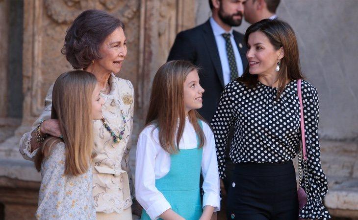 La custodia de las menores quedaría en manos de Casa Real