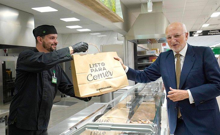 Mercadona se encuentra extendiendo su servicio de comida casera para llevar