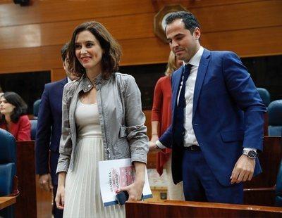 """Díaz Ayuso (PP), tras firmar el pacto con C's: """"He sido la primera en normalizar a VOX"""""""