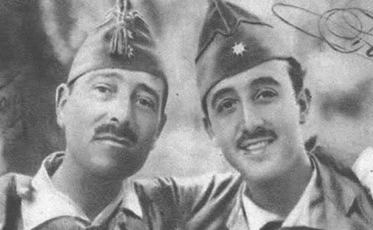 Millán Astray y Francisco Franco