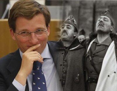 Martínez-Almeida se reúne con ex legionarios para poner una estatua a Millán Astray