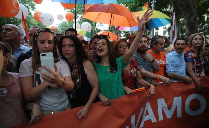 Ciuddanos en el Orgullo LGTBI 2019 de Madrid