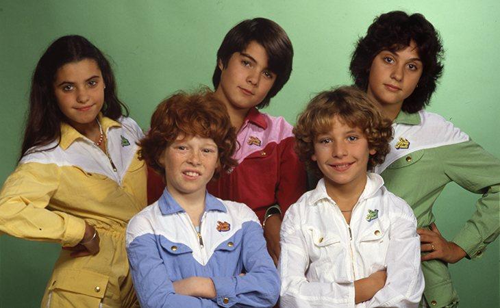 Los cinco miembros de 'Parchís'