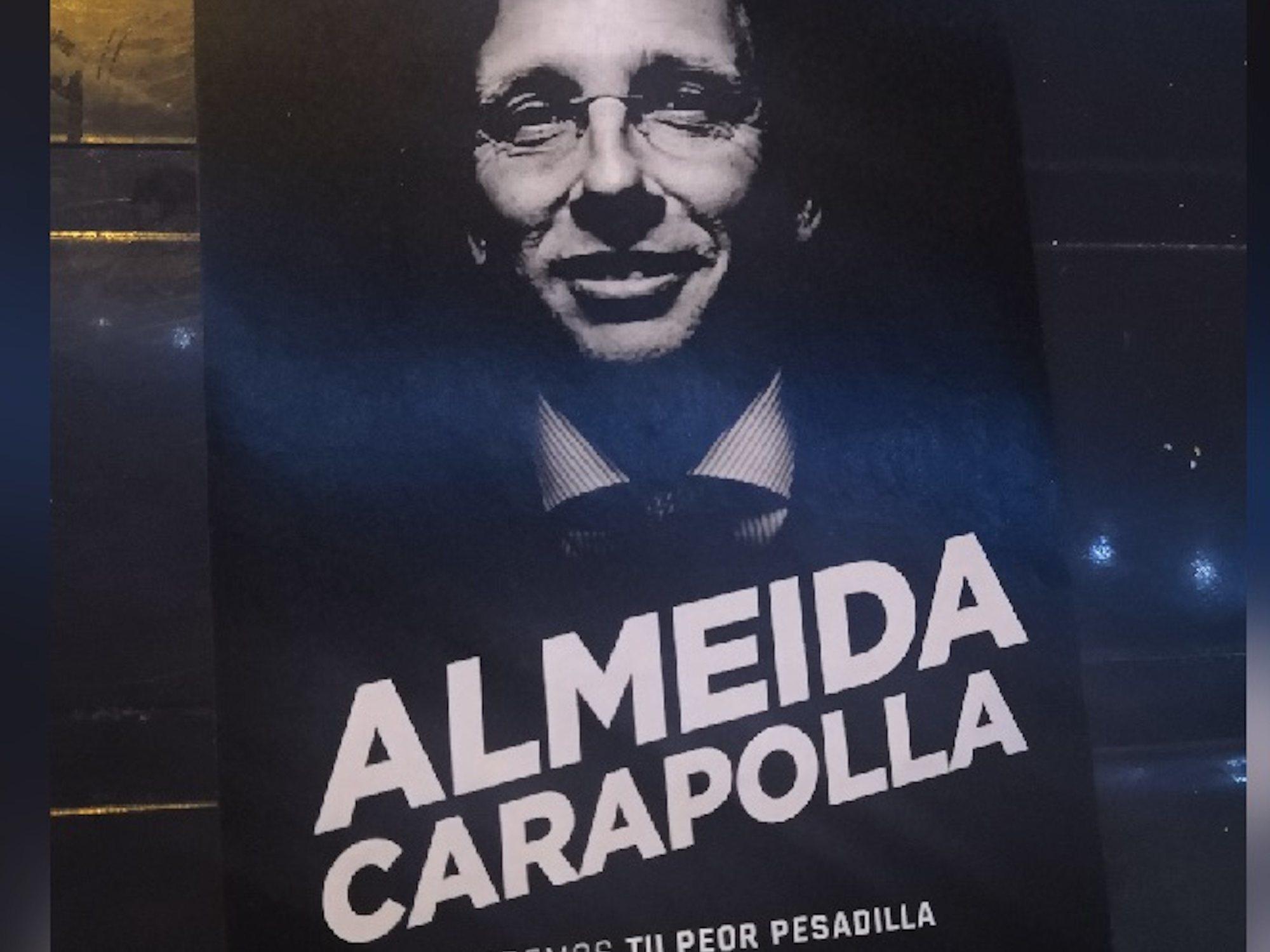 """Santy Pérez, autor de 'Almeida Carapolla': """"Tenemos políticos completamente estúpidos"""""""
