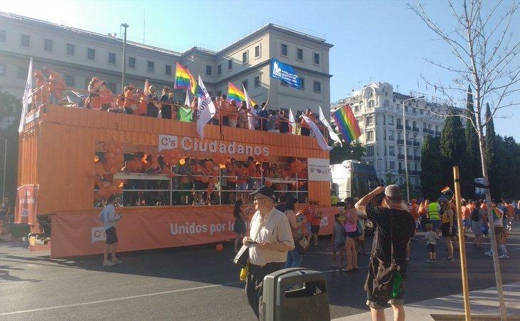 Ciudadanos participó con carrozas en las últimas ediciones