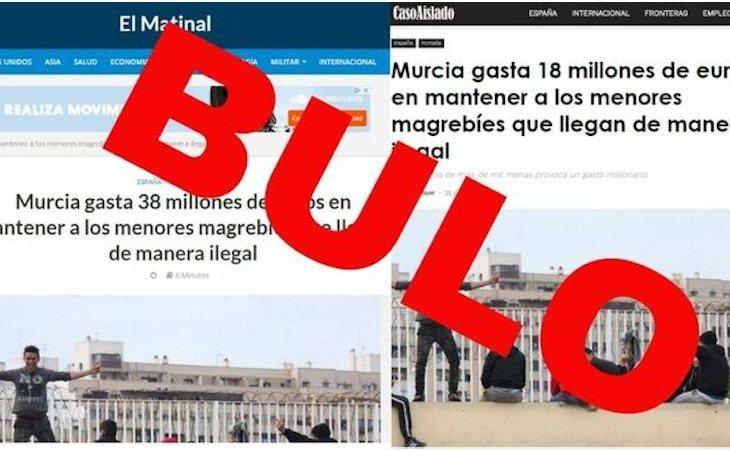 No se destinan 18 o 38 millones para mantener a MENAs en Murcia