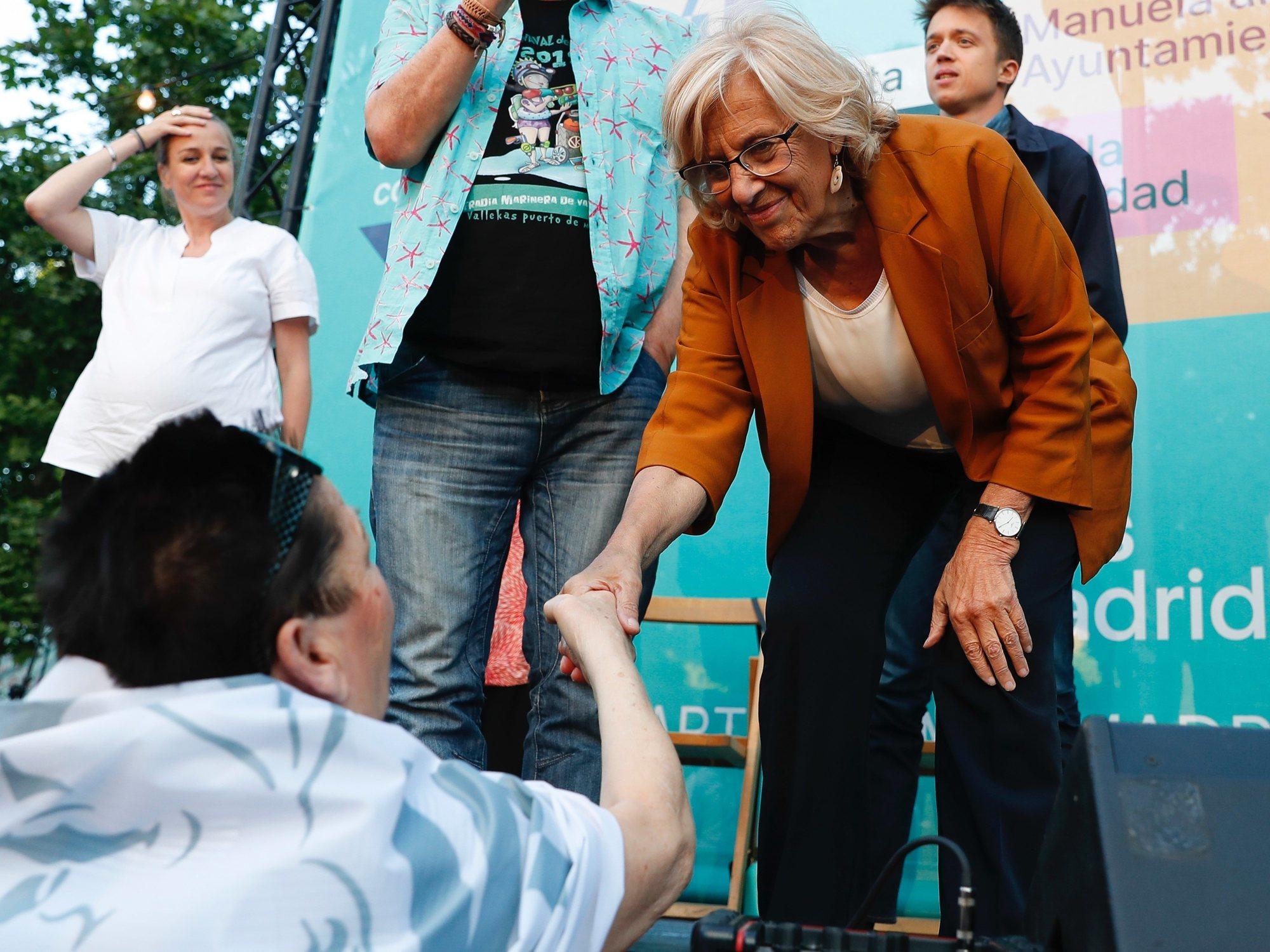 Manuela Carmena y su deseo de convertirse en la Defensora del Pueblo
