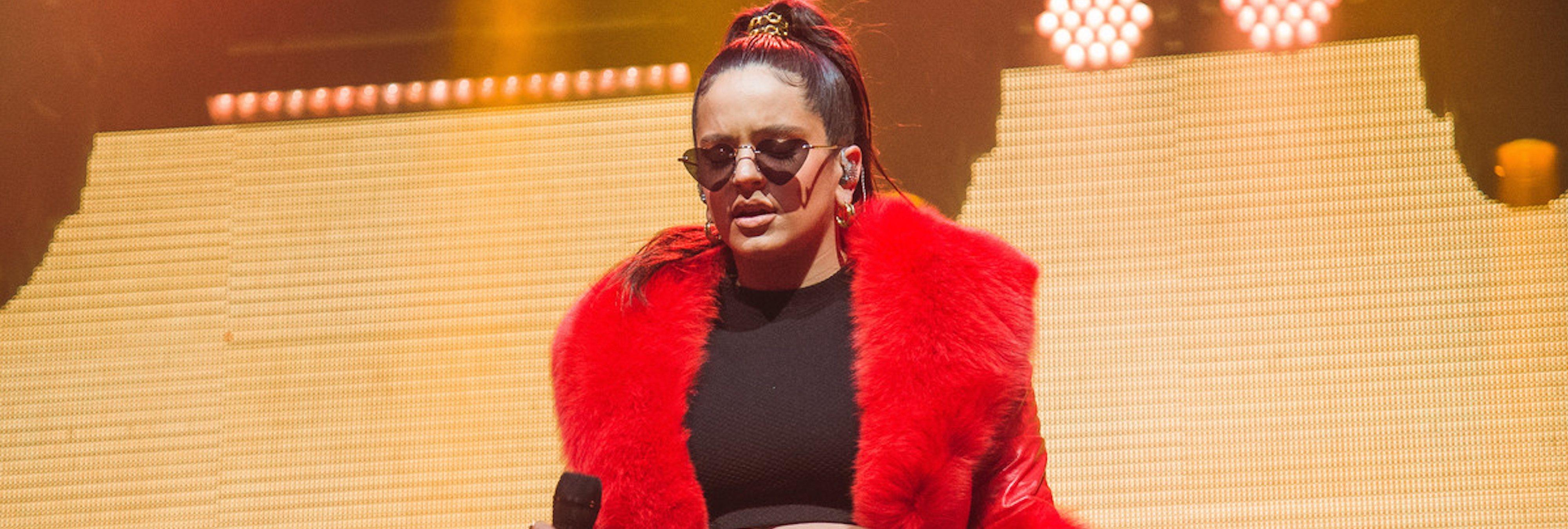 Rosalía decepciona a sus fans por vestir con piel de animales
