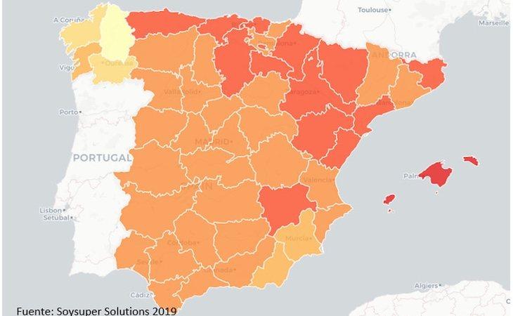 SoySuper ofrece un mapa representativo de las diferencias en los precios