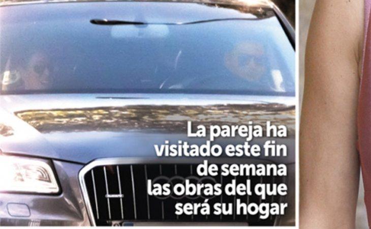 La revista Semana lleva a portada las fotos de Albert Rivera y Malú visitando su vivienda
