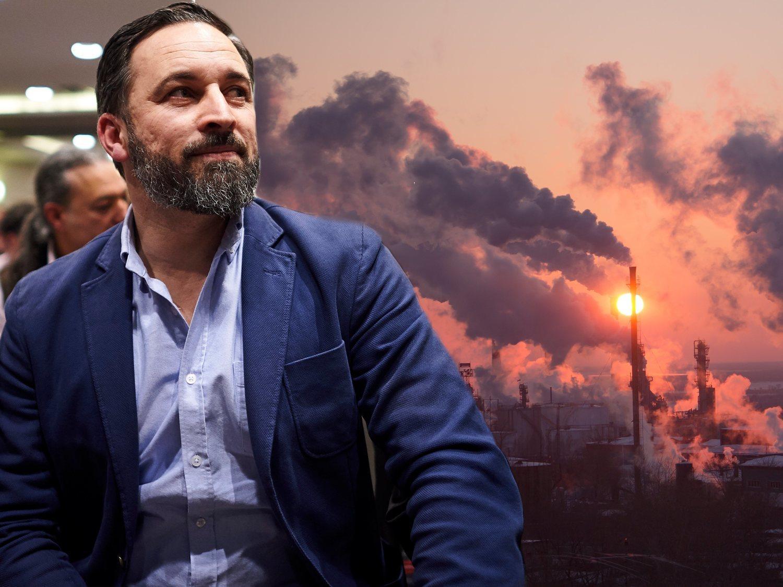 """Abascal pone en duda que la contaminación produce cambio climático: """"No sé las causas científicas"""""""