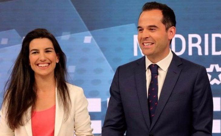 Rocío Monasterio (VOX) e Ignacio Aguado (Ciudadanos)