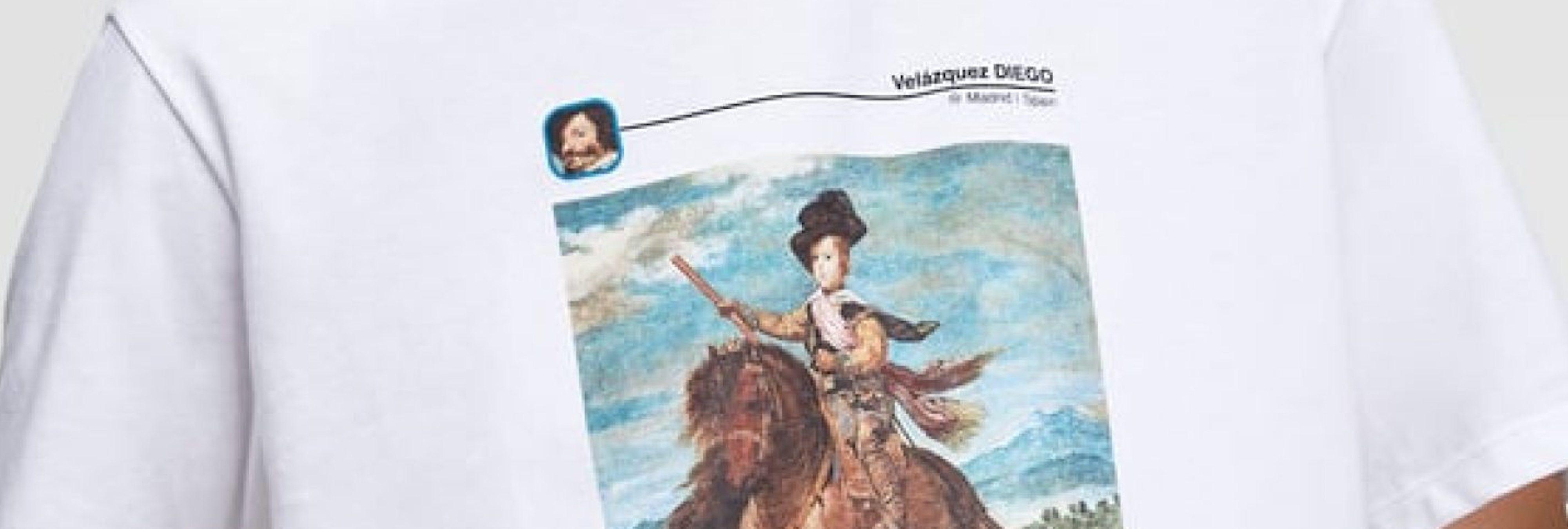 Zara confunde al Conde Duque de Olivares con Diego Velázquez en una camiseta