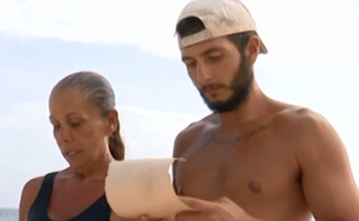 Omar Montes ha sido el mayor apoyo de su Isabel Pantoja en 'Supervivientes'