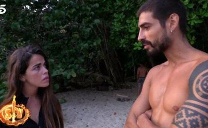 Fabio Colloricchio nunca se mezcló en los conflictos de Violeta en 'Supervivientes'