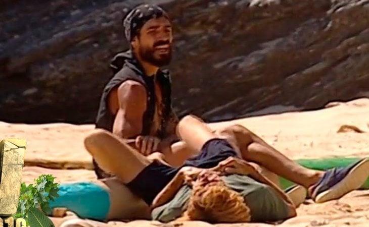 Fabio y Colate, lisidados en 'Supervivientes 2019'