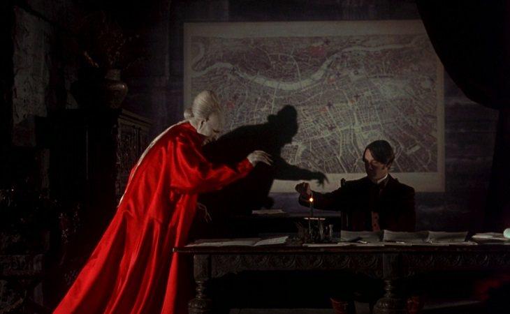 Drácula, su sombra y Jonathan Harker