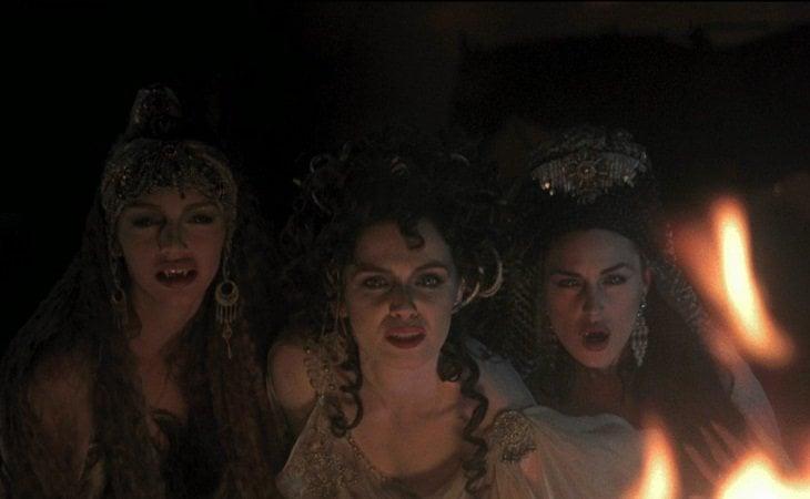 Michaela Bercu, Florina Kendrick & Monica Bellucci