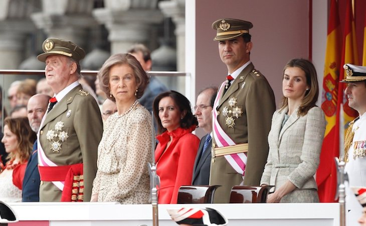 Santiago Ramírez puso en el punto de mira a toda la Familia Real