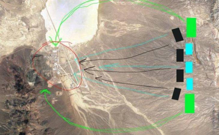 El supuesto plan de asalto al Área 51, descrito en la plataforma creada en Facebook