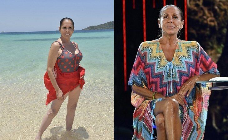 Isabel Pantoja antes y después de su paso por 'Supervivientes'