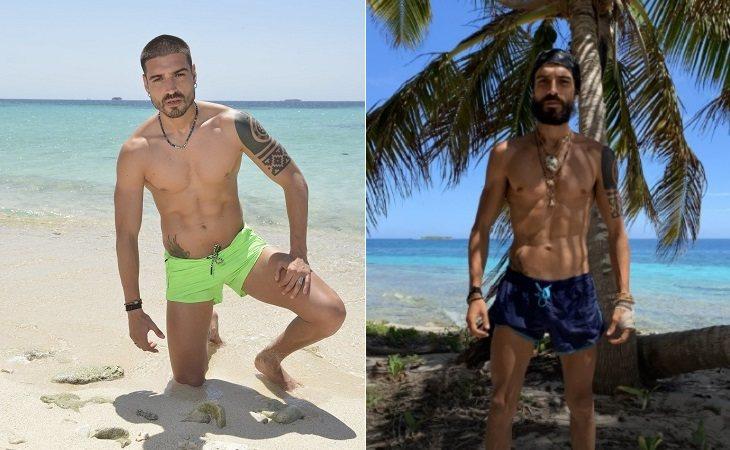 Fabio antes y después de su paso por 'Supervivientes'