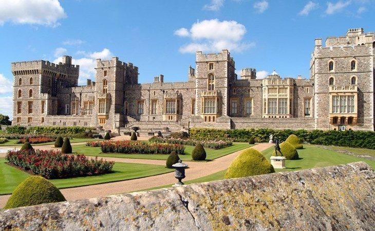 El castillo de Windsor, una de las propiedades de valor incalculable que forman parte del patrimonio de la Corona británica