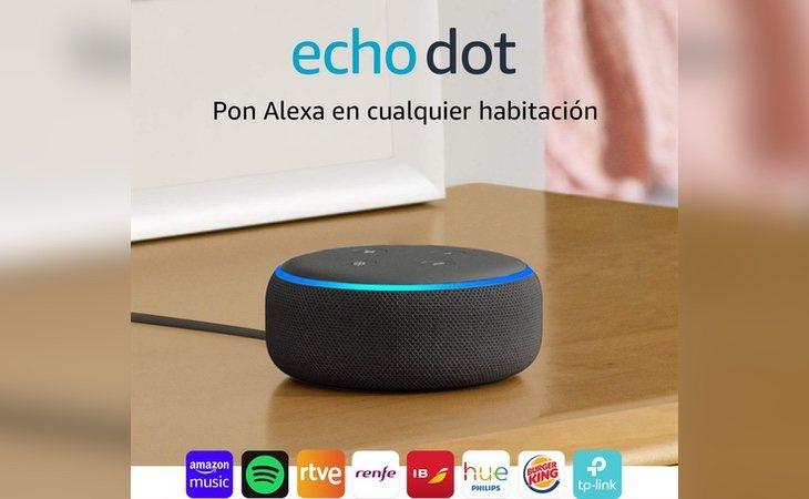 El Echo Dot con Alexa es uno de los dispositivos más demandados durante el Prime Day
