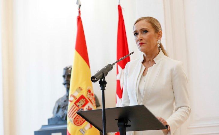 Cristina Cifuentes dimitió como Presidenta de Madrid por el caso Máster