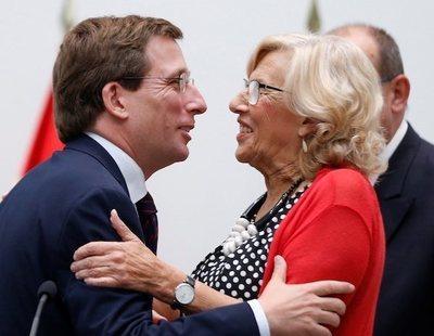 """La aplaudida respuesta de Carmena al """"Almeida carapolla"""": """"Te voy a dar un coscorrón"""""""