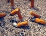 Portugal pondrá multas de hasta 250 euros por tirar colillas de tabaco al suelo
