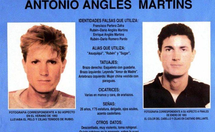 Antonio Anglés, sospechoso del crimen