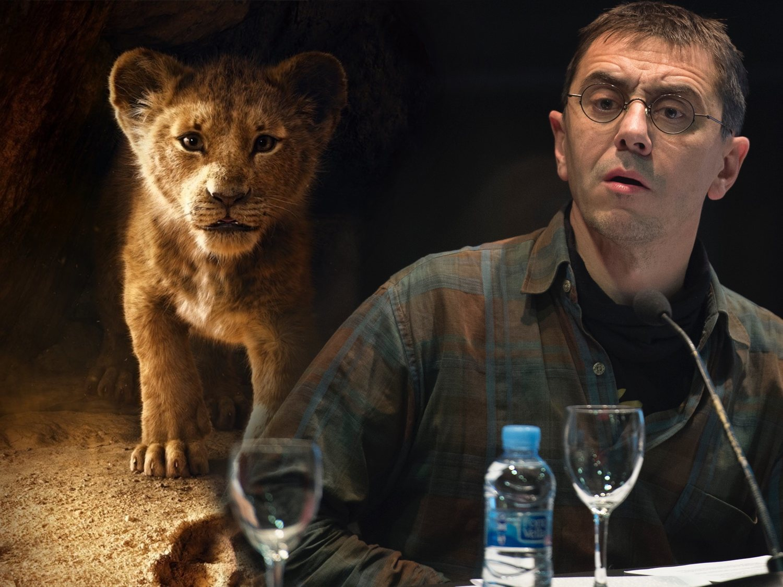 La teoría conspiratoria de Juan Carlos Monedero sobre 'El Rey León' que circula en la red