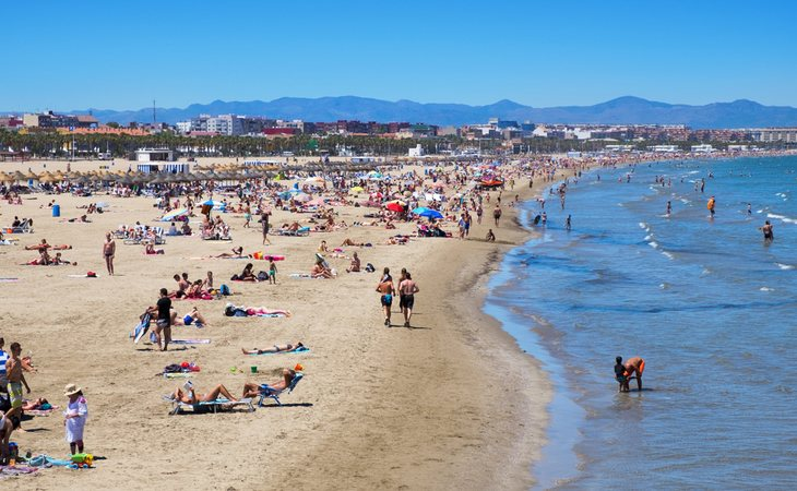 Las playas valencianas se encuentran en el punto de mira por la contaminación fecal de sus aguas