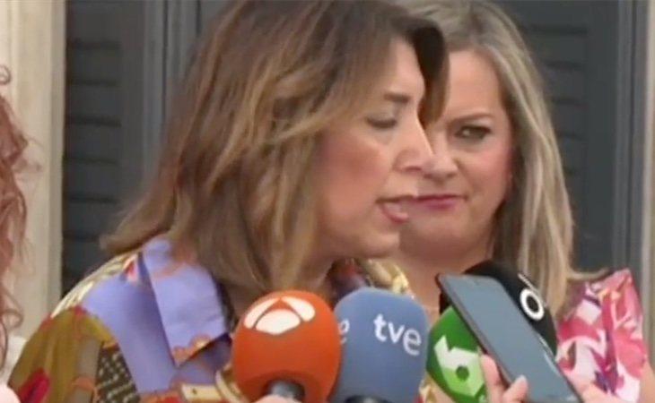 Susana Díaz: 'Pedro Sánchez antepone los intereses de España a los del PSOE'