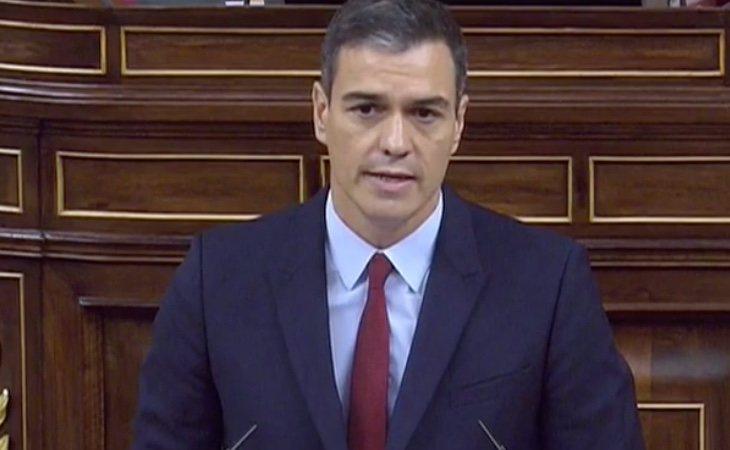 Sánchez comienza con alegatos al feminismo y el desarrollo de la democracia en los últimos 40 años