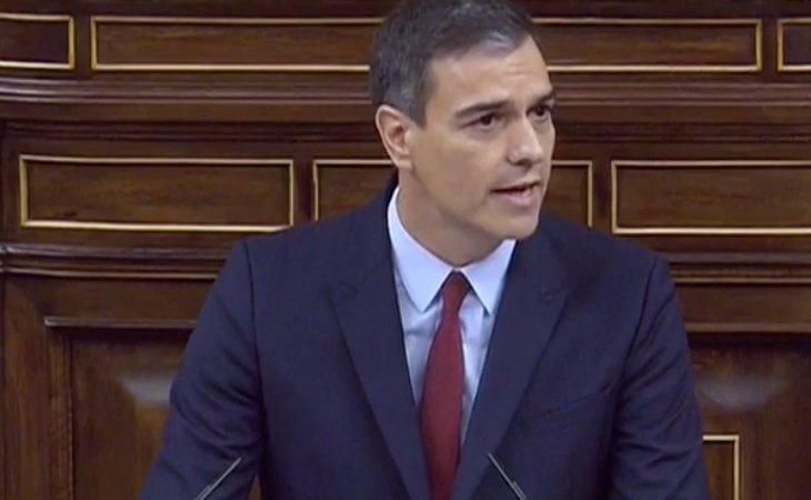 Sánchez: 'No se puede negar la violencia que se ejerce contra la mitad de la población, como hacen algunos partidos'