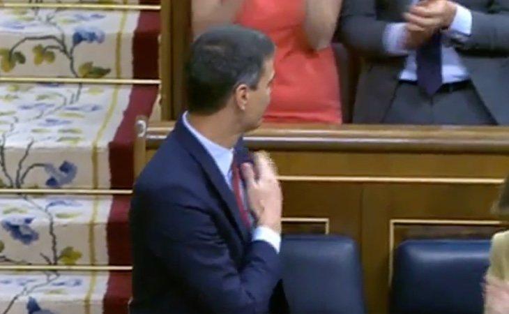 Termina la intervención de Pedro Sánchez