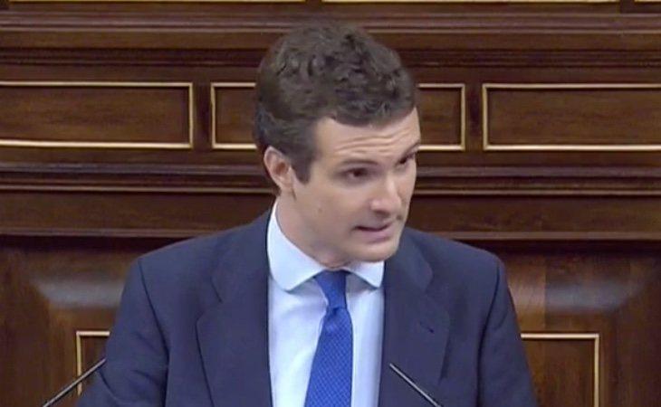 Casado: 'Podemos es un partido en contra del régimen constitucional y las instituciones, quiere la república'