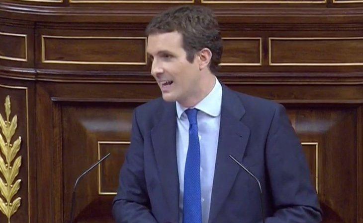Casado intenta erigirse como líder de la oposición: apela levemente a pactos de Estado y critica la política de pactos con Podemos y nacionalistas