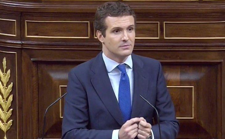 Casado responde a Sánchez: 'Usted no es una persona de fiar'