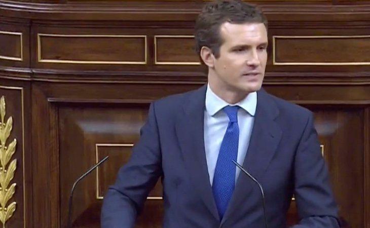 Casado intenta centrar el tema del debate en Cataluña, el eje de su campaña electoral